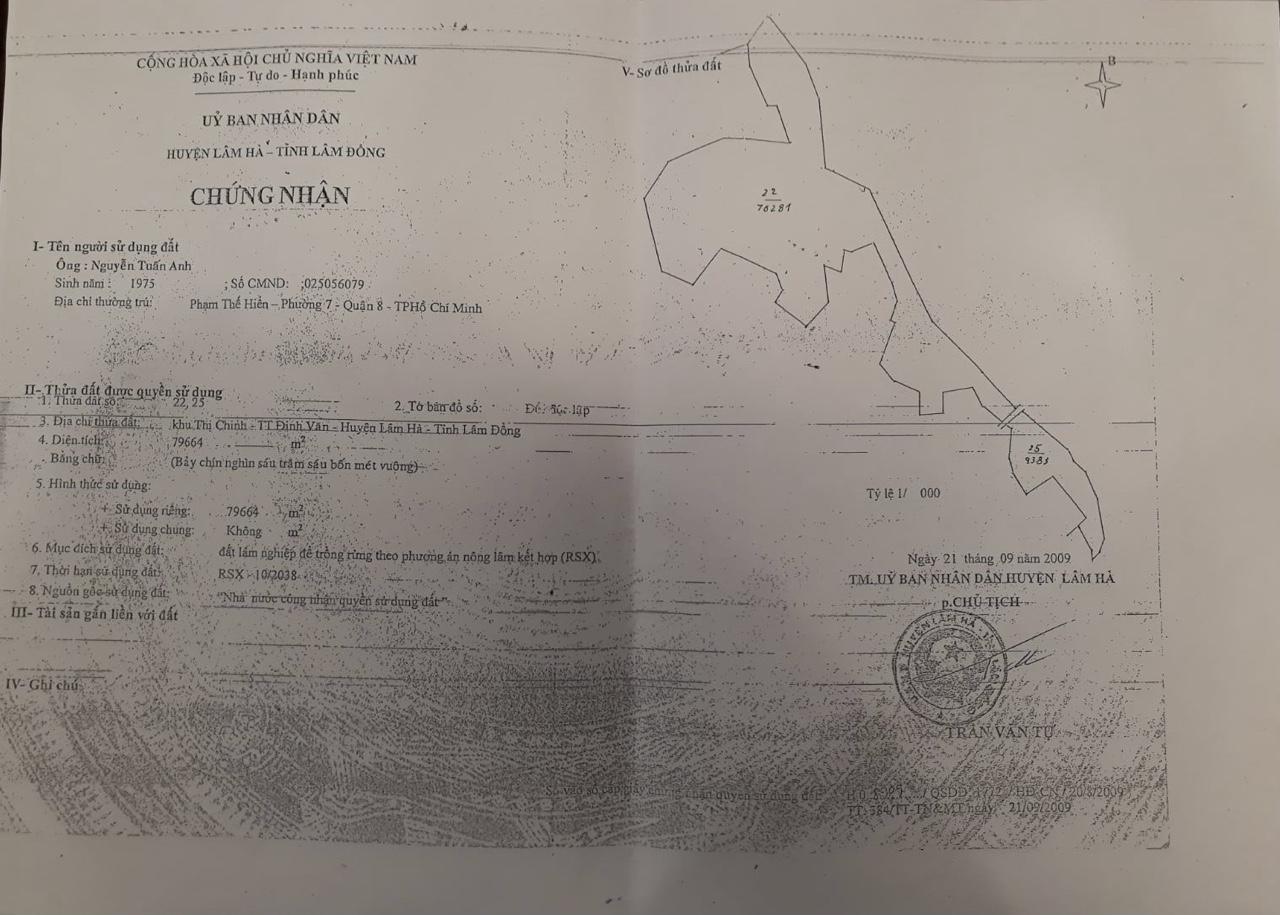 bán 15ha đất nông nghiệp huyện đức trọng